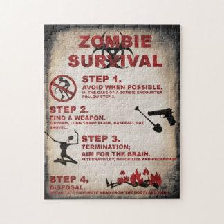 Zombiepuzzlespiel Puzzle