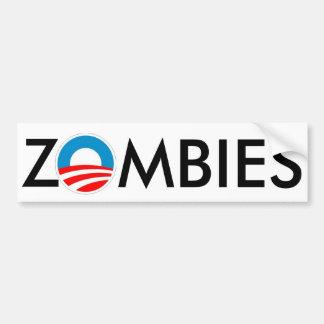 ZOMBIES 4 Obama-Schlamm Autoaufkleber