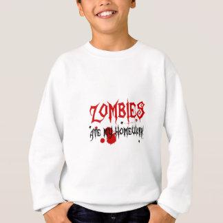 Zombies aßen meine Hausaufgaben Sweatshirt