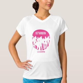 Zombies (aufrecht) - Sport-Technisches V-Hals T-Shirt