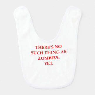 Zombies Babylätzchen