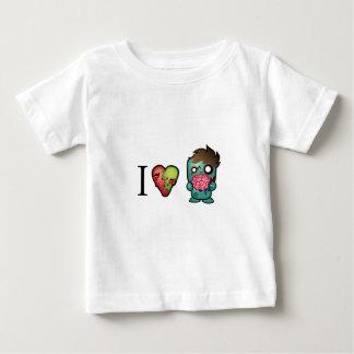 Zombies der Gehirn-I <3 sind überall! Baby T-shirt
