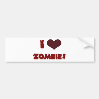 Zombies der Liebe I Autoaufkleber