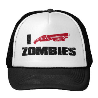 Zombies der Schrotflinte I Trucker Kappe