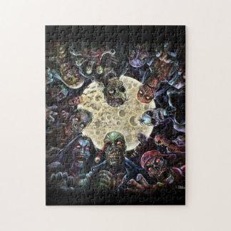 Zombies greifen an (Zombie-Horde) Foto Puzzle