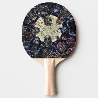 Zombies greifen an (Zombie-Horde) Tischtennis Schläger