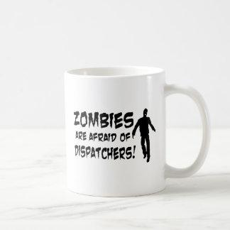 Zombies haben vor Fahrdienstleitern Angst Kaffeetasse