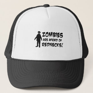 Zombies haben vor Rednecken Angst Truckerkappe