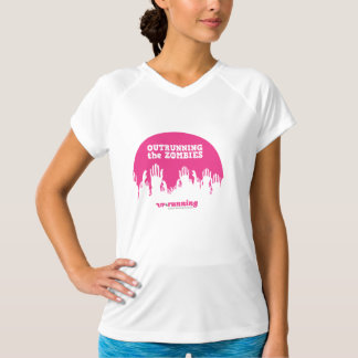 Zombies (Hände) - Sport-Technisches V-Hals T-Stück T-Shirt