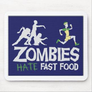 Zombies HASSEN Schnellimbiß Mousepad