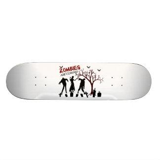 Zombies kommen 20,6 cm skateboard deck