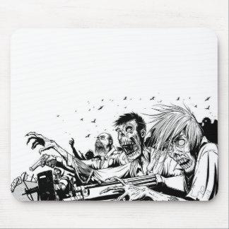 Zombies mit Gewehren Mauspad