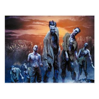 Zombies! Postkarte