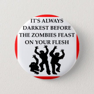 ZOMBIES RUNDER BUTTON 5,7 CM