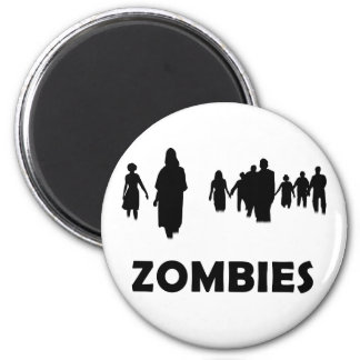 Zombies Runder Magnet 5,1 Cm