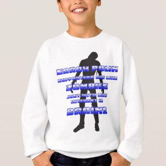 Zombies Sarahs Palin Anhänger-V. Sweatshirt