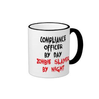 Zombieslayer-Befolgungs-Offizier Tee Tasse