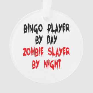 Zombieslayer-Bingo-Spieler Ornament