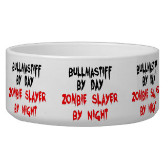 ZombieSlayer Bullmastiff Hundezucht-Schüssel Napf