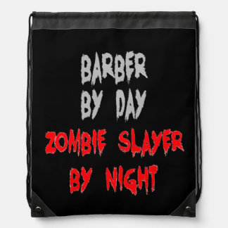 Zombieslayer-Friseur Turnbeutel