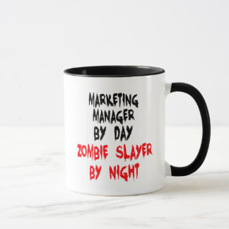 Zombieslayer-Marketings-Manager Tasse