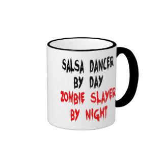 Zombieslayer-Salsa-Tänzer Ringer Tasse