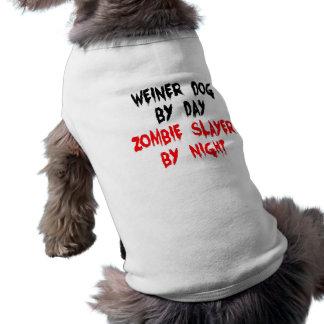 ZombieSlayer Weiner Hund Shirt