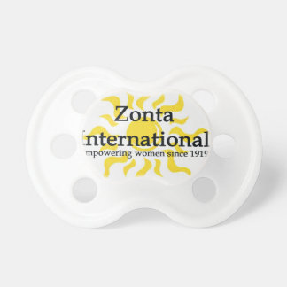 Zonta internationales Sun Shirt Schnuller