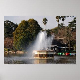 Zoo See-Brunnen Südafrika Poster