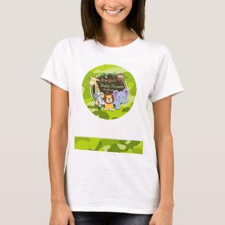 Zoo-Tiere; hellgrüne Camouflage, Tarnung T-Shirt