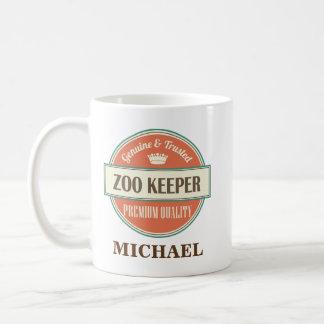 Zoo-Wächter-personalisiertes Büro-Tassen-Geschenk Tasse