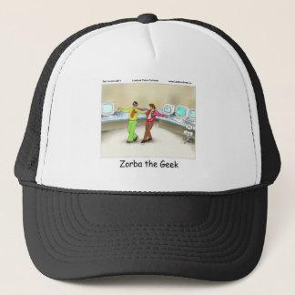 Zorba die Geek-lustigen Geschenk-T-Shirts-Tassen Truckerkappe