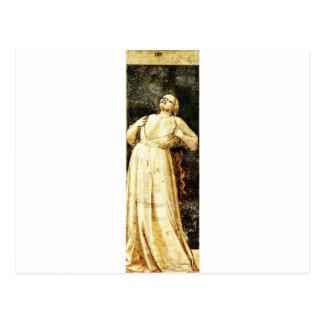 Zorn durch Giotto Postkarte