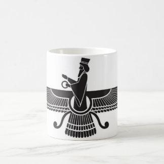 Zoroastrian-persische Tasse der Iran