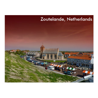 Zoutelande, die Niederlande Postkarte