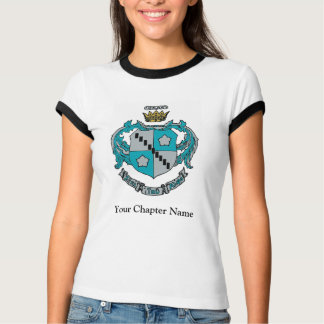 ZTA Wappen-Farbe T-Shirt