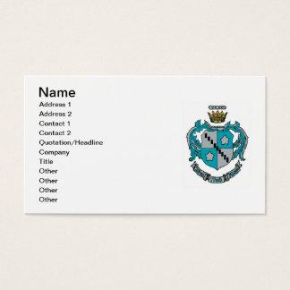 ZTA Wappen-Farbe Visitenkarte