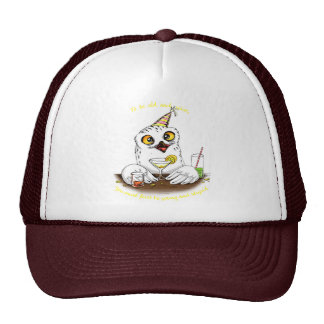 Zu alte und kluge Eule sein Baseball Cap