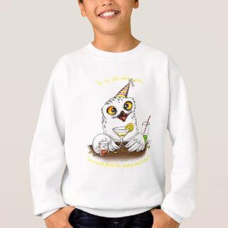 Zu alte und kluge Eule sein Sweatshirt
