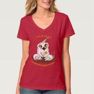 Zu alte und kluge Eule sein T-Shirt