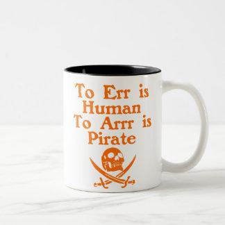 Zu Arrr ist Piraten-Kaffeetassen