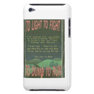 zu beleuchten, um zu kämpfen iPod touch Case-Mate hülle