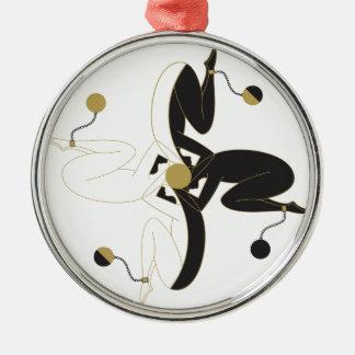 Zu beschäftigt Dizzy auch Silbernes Ornament