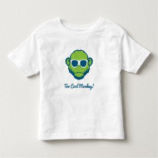 Zu cooler Affe Kleinkind T-shirt