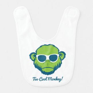 Zu cooler Affe Lätzchen