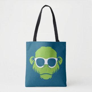 Zu cooler Affe Tasche