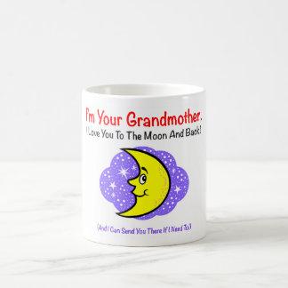 Zu den Mond-Großmutter-Getränk-Waren Kaffeetasse