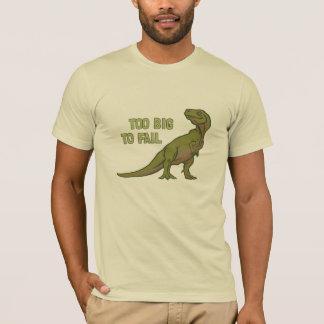 Zu groß Dino-T-Stück versagen T-Shirt