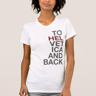 Zu Helvetica und zu hinterem T-Shirt