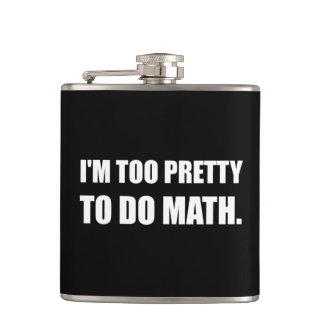 Zu hübsch Mathe tun Flachmann
